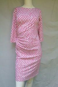 J. McLaughlin dress 👗 white pink size XS small